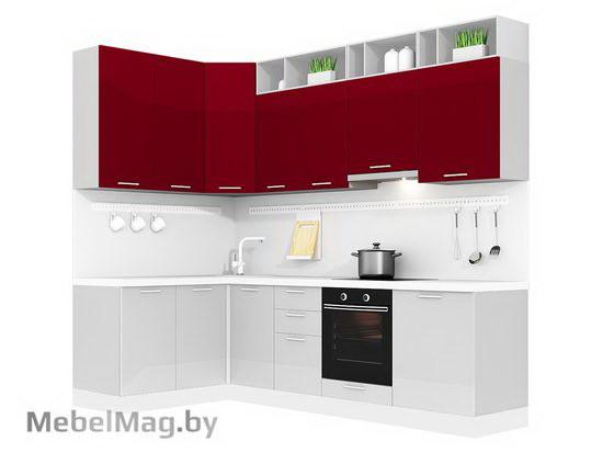 Угловая кухня Кухня Brillo 1500х2700-2