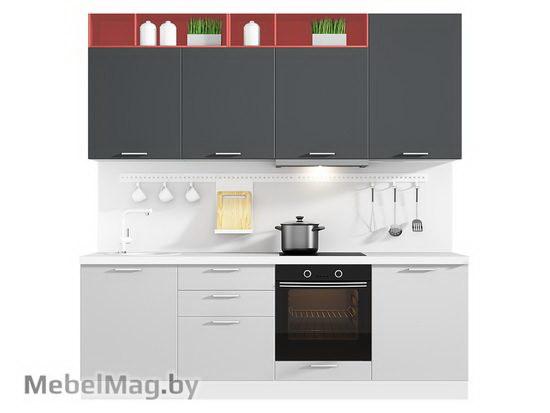 Прямая кухня Кухня Colore 2400-2