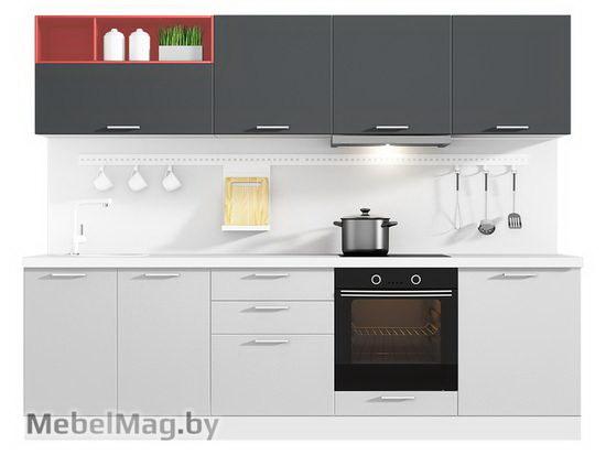 Прямая кухня Кухня Colore 2700-2