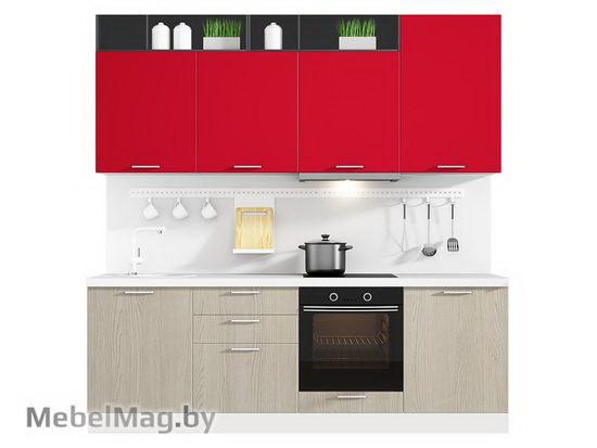 Прямая кухня Кухня Pratico 2400-3