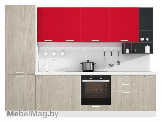 Прямая кухня Кухня Pratico 3000-3