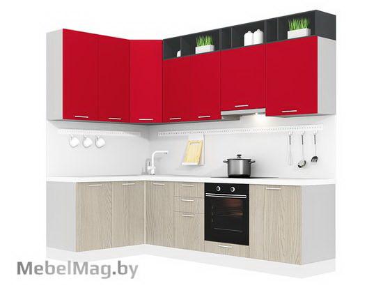 Угловая кухня Кухня Pratico 1500х2700-3