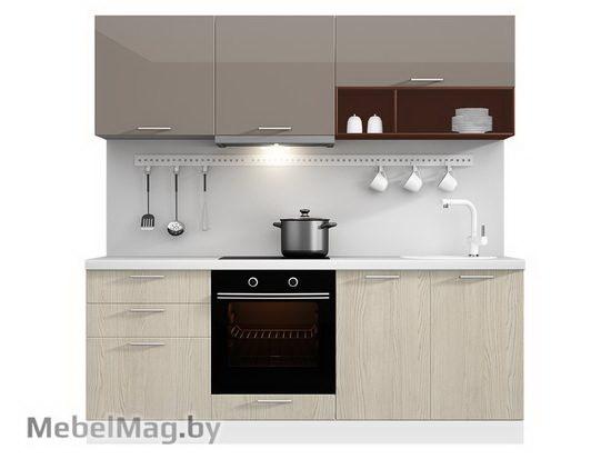 Прямая кухня Кухня Pratico 2100-4