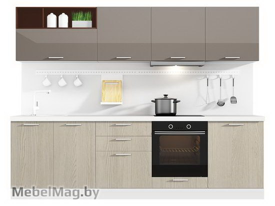 Прямая кухня Кухня Pratico 2700-4