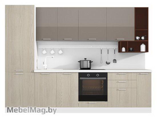 Прямая кухня Кухня Pratico 3000-4