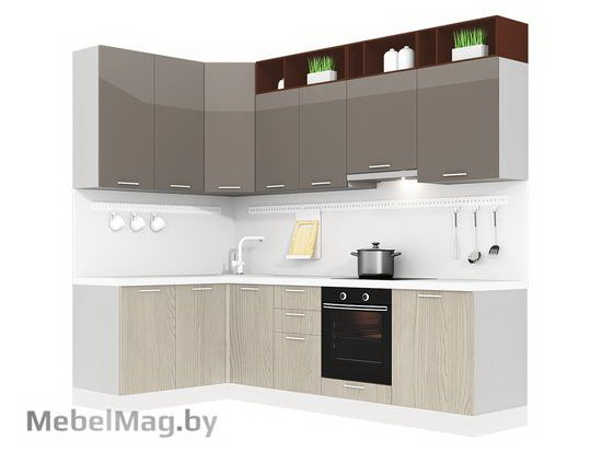 Угловая кухня Кухня Pratico 1500х2700-4