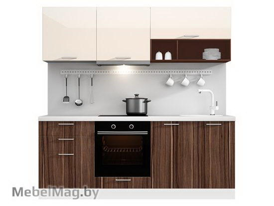 Прямая кухня Кухня Pratico 2100-5