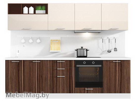 Прямая кухня Кухня Pratico 2700-5