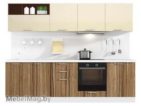 Прямая кухня Кухня Lacatto 2700-3