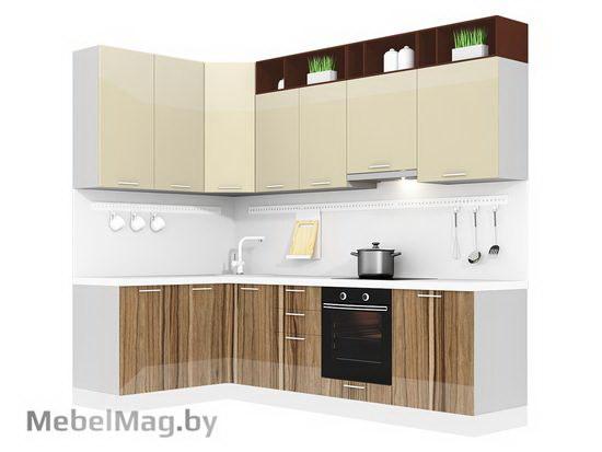 Угловая кухня Кухня Lacatto 1500х2700-3