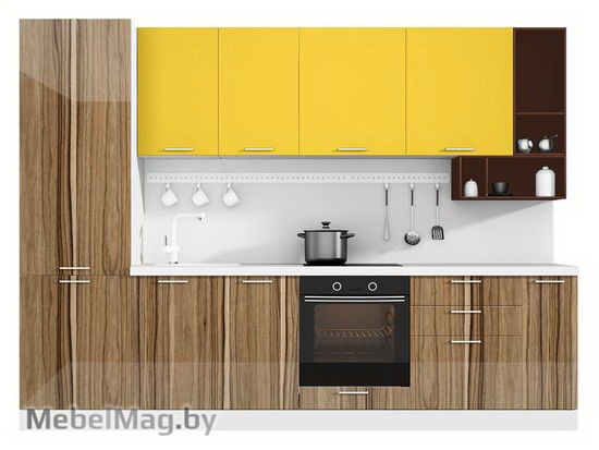 Прямая кухня Кухня Lacatto 3000-4