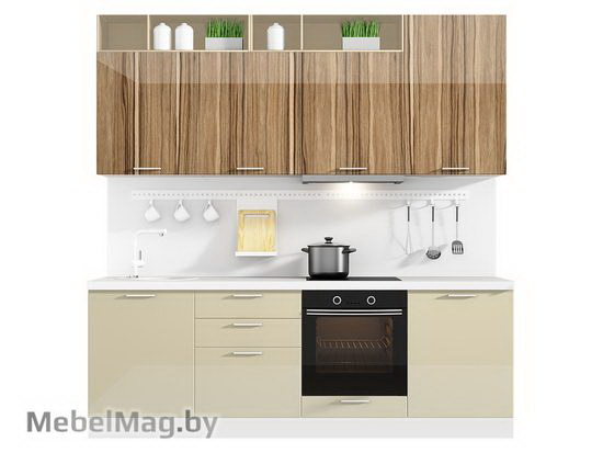 Прямая кухня Кухня Lacatto 2400-5