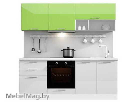 Прямая кухня Кухня Brillo 2100-3