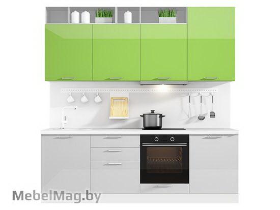 Прямая кухня Кухня Brillo 2400-3