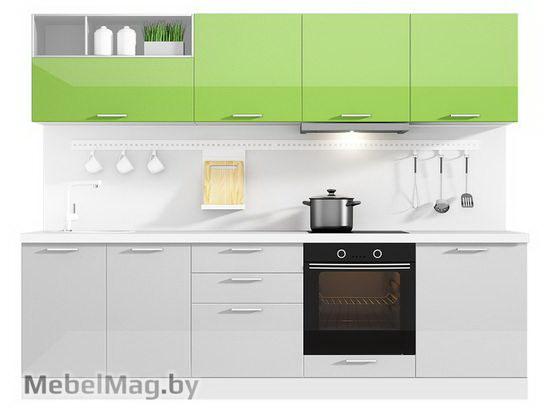 Прямая кухня Кухня Brillo 2700-3