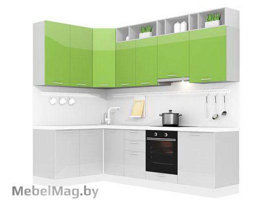 Угловая кухня Кухня Brillo 1500х2700-3
