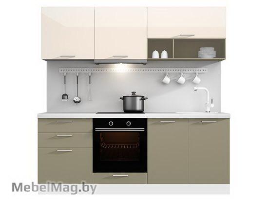 Прямая кухня Кухня Brillo 2100-4