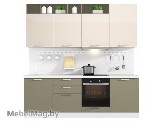 Прямая кухня Кухня Brillo 2400-4