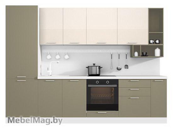 Прямая кухня Кухня Brillo 3000-4