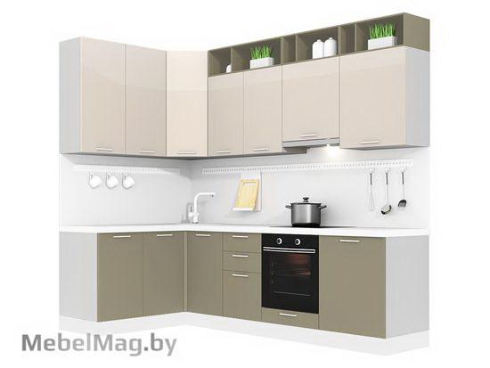 Угловая кухня Кухня Brillo 1500х2700-4