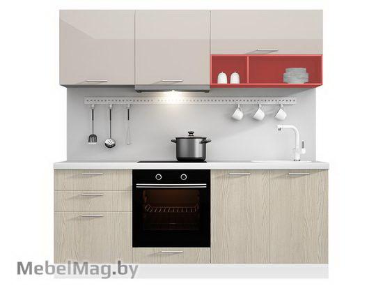 Прямая кухня Кухня Brillo 2100-5