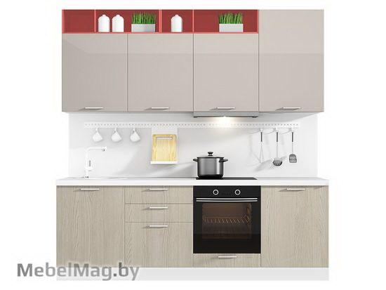 Прямая кухня Кухня Brillo 2400-5