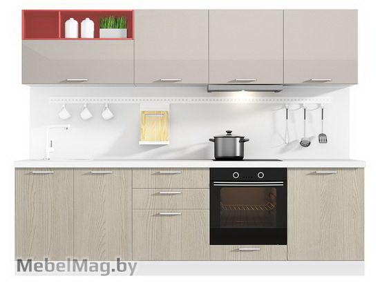Прямая кухня Кухня Brillo 2700-5