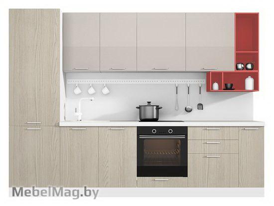 Прямая кухня Кухня Brillo 3000-5