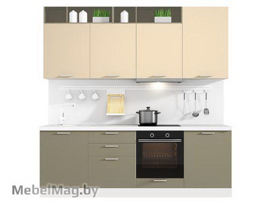 Прямая кухня Кухня Colore 2400-3