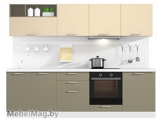 Прямая Кухня Colore 2700 VKS159