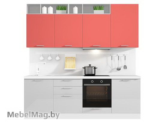 Прямая кухня Кухня Colore 2400-4