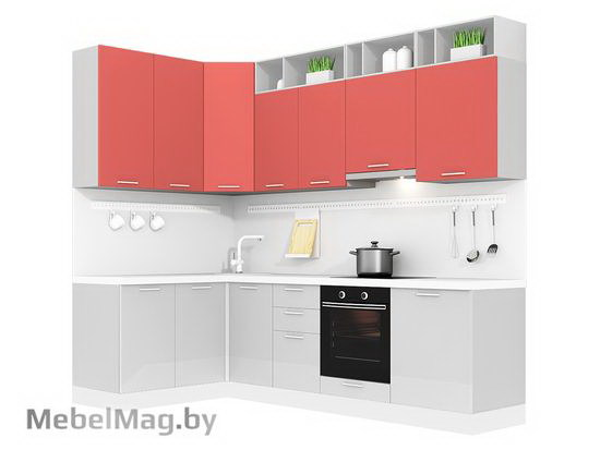 Угловая кухня Кухня Colore 1500х2700-4