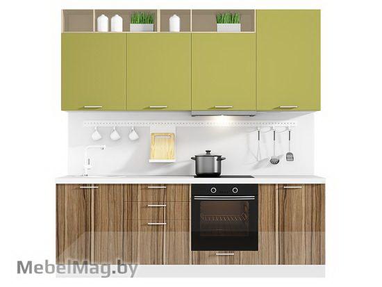 Прямая кухня Кухня Colore 2400-5