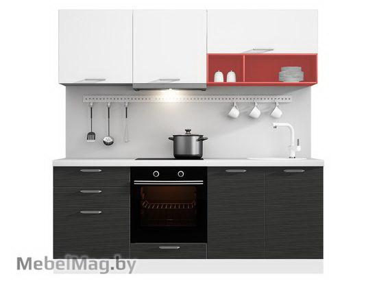 Прямая кухня Кухня Tela 2100-4