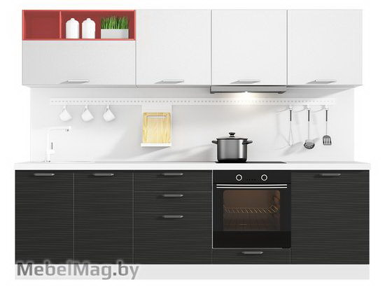 Прямая кухня Кухня Tela 2700-4