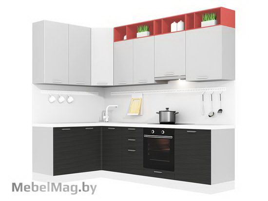 Угловая кухня Кухня Tela 1500х2700-4