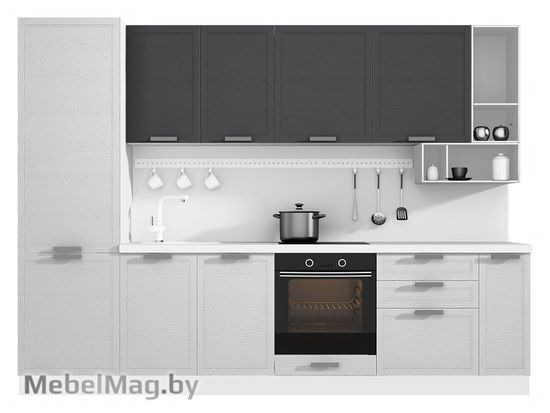 Прямая кухня Кухня Bello 3000-3
