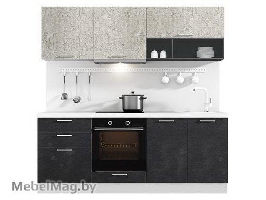 Прямая кухня Кухня Plastica 2100-1