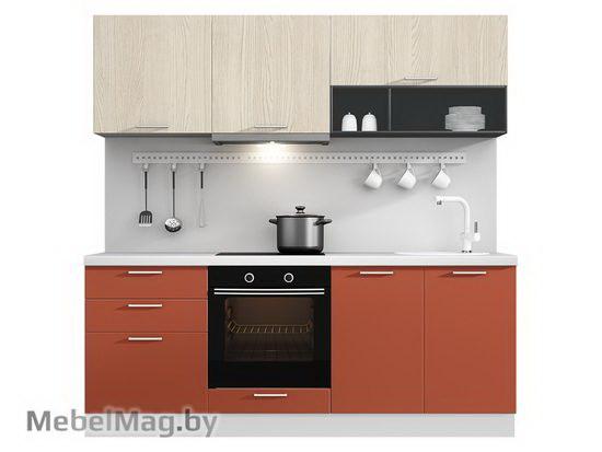 Прямая кухня Кухня Plastica 2100-4