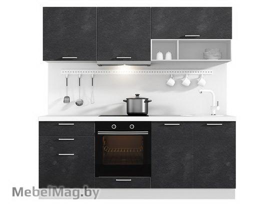 Прямая кухня Кухня Plastica 2100-5