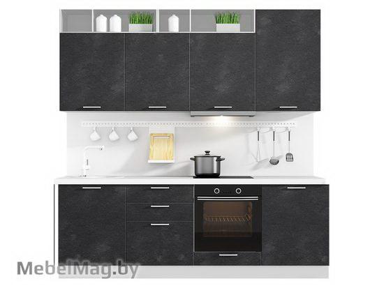 Прямая кухня Кухня Plastica 2400-5