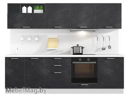 Прямая кухня Кухня Plastica 2700-5