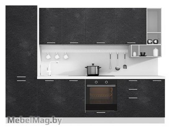 Прямая кухня Кухня Plastica 3000-5