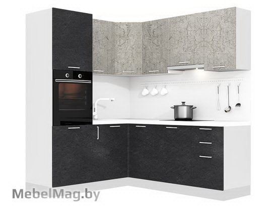 Кухня Plastica 1800x2100-1