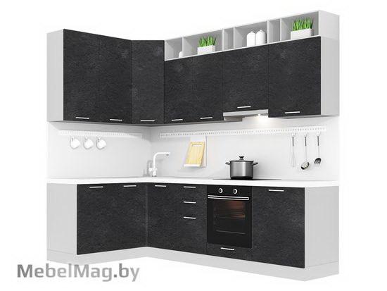 Угловая кухня Кухня Plastica 1500x2700-5