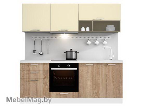 Прямая кухня Кухня Pratico 2100-1