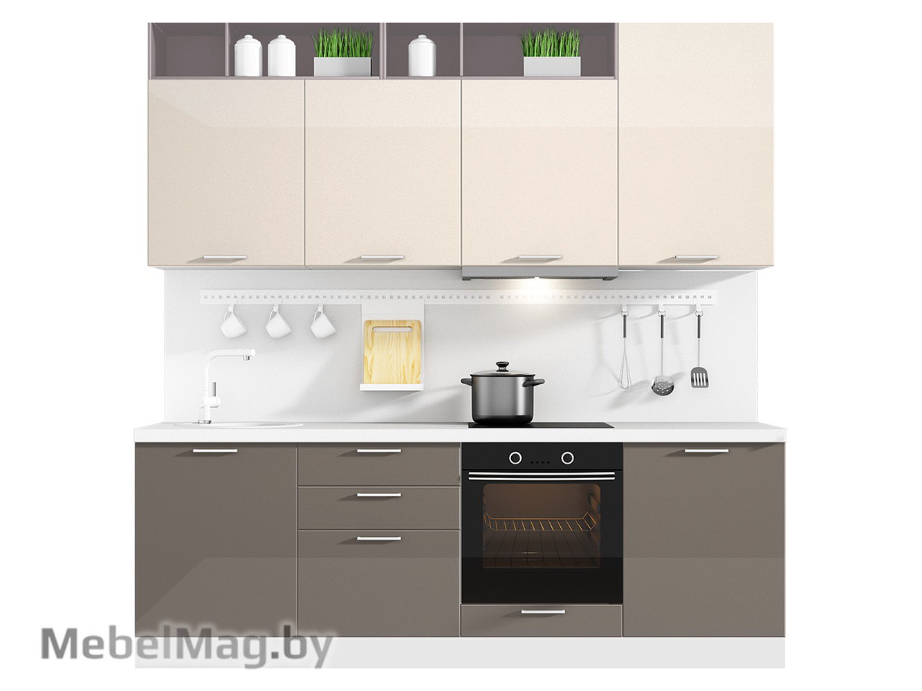 Кухня Brillo 2400 VKS105
