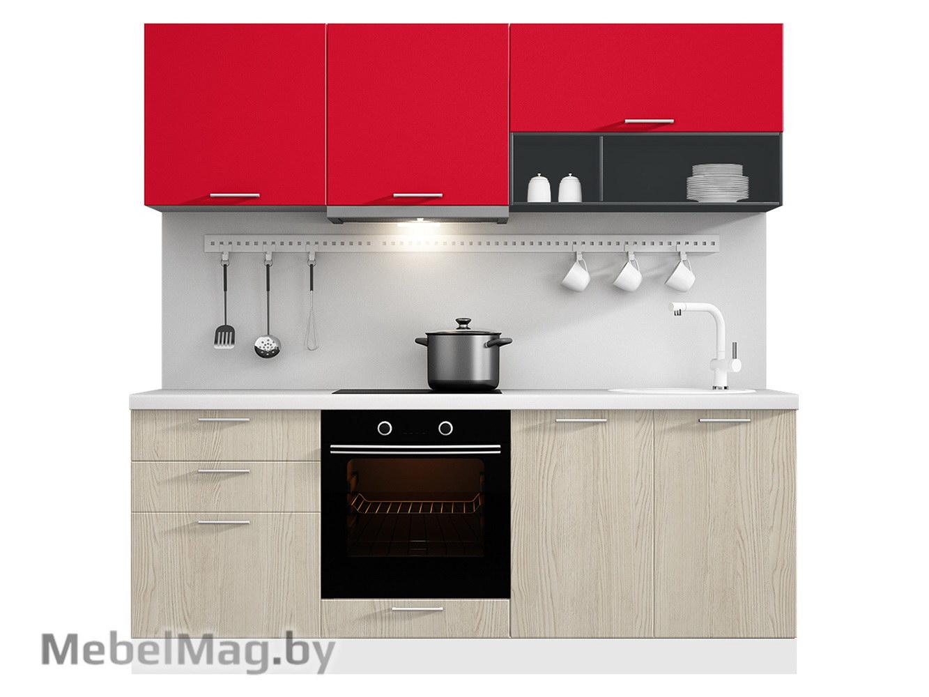Кухня Pratico 2100 VKS033