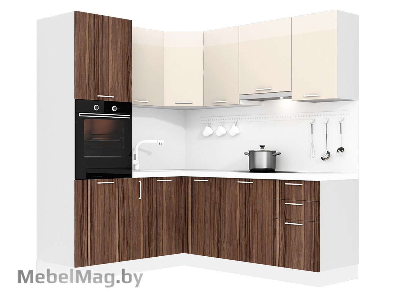 Кухня Pratico 1800х2100 VKS313