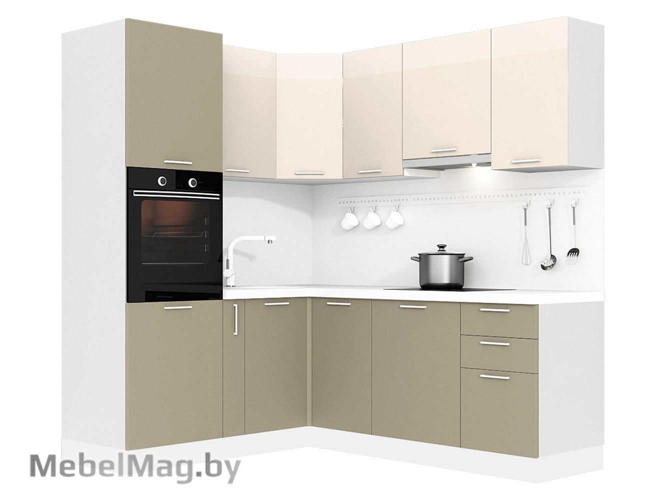 Кухня Brillo 1800х2100 VKS289